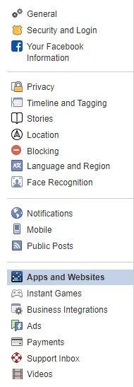 App e siti web Facebook - Virus Facebook - Inserisci codice google iPhone X