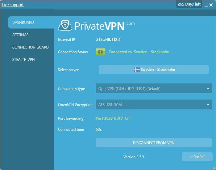 privatevpn-app-avanzate-windows10