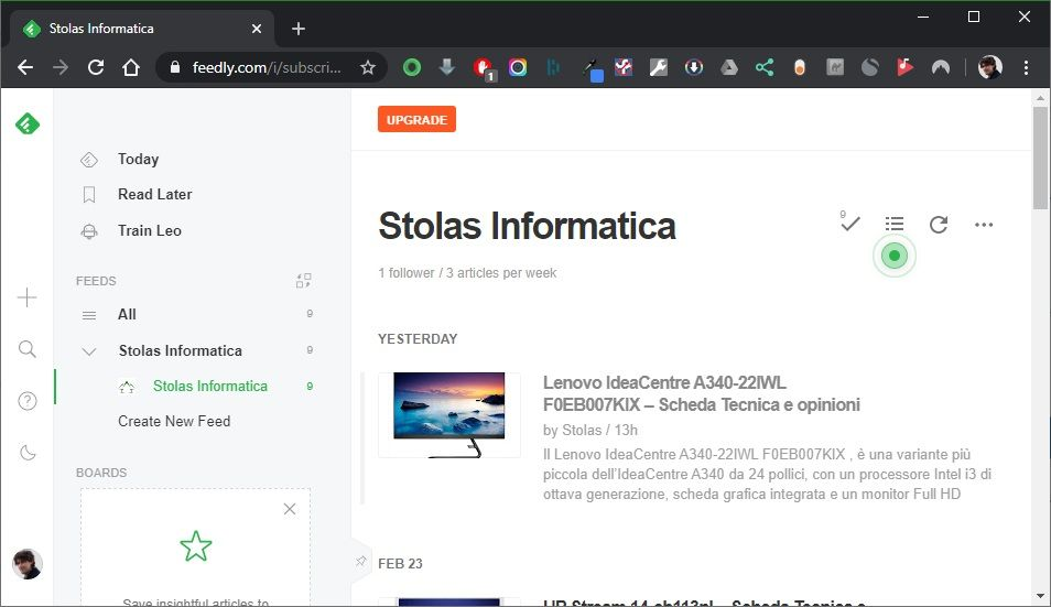 Feedly-lettore-feed-rss