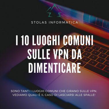 Luoghi comuni VPN dimenticare