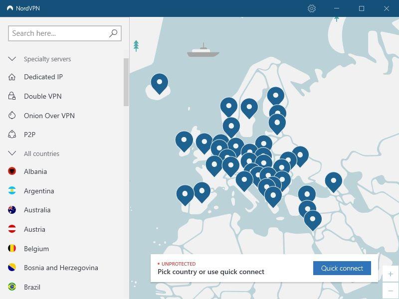 NordVPN-recensione-app-home