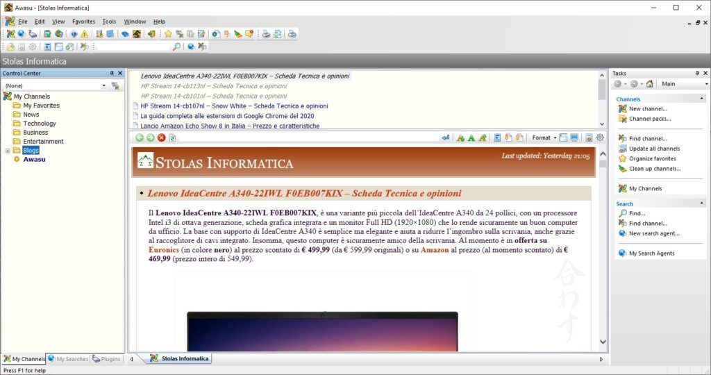 awasu-personal-edition-lettore-feed-rss
