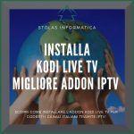 Installare addon kodi live tv iptv
