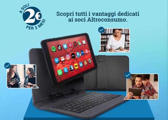altroconsumo tablet gratis