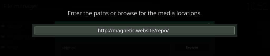 magnetic repo - add source kodi addon apex