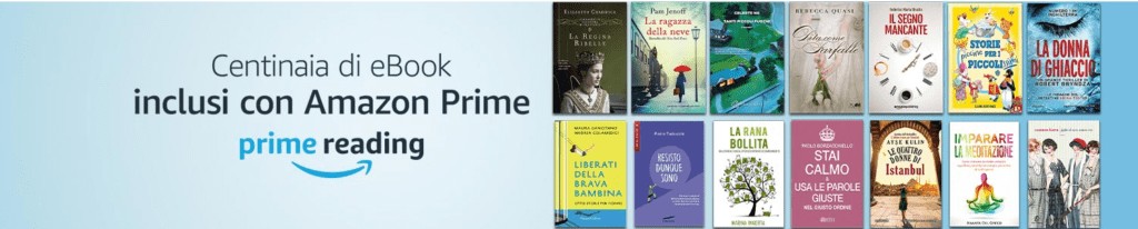 Prime Reading - Amazon ebook gratis