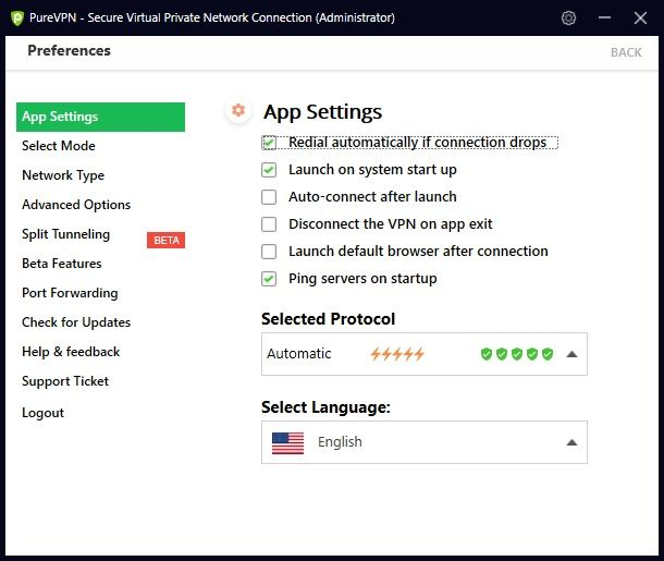 purevpn-guida-app-windows-impostazioni