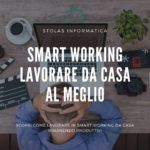 smart working lavorare da casa