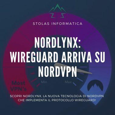 NordLynx - Wireguard su NordVPN