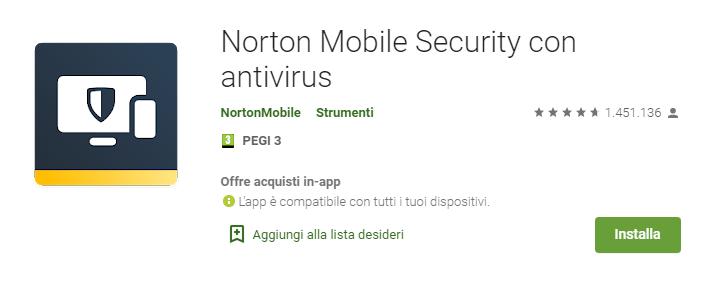 Norton Mobile Security Antivirus