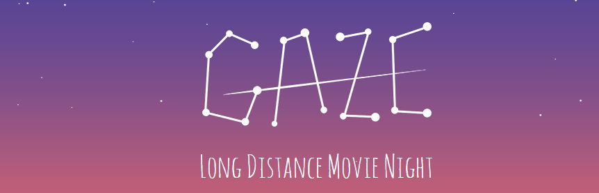 Vedere film insieme a distanza - Gaze