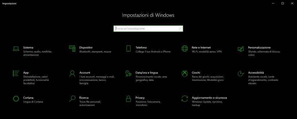 Come ingrandire caratteri Windows - Impostazioni