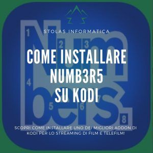 Installare addon Numbers Kodi