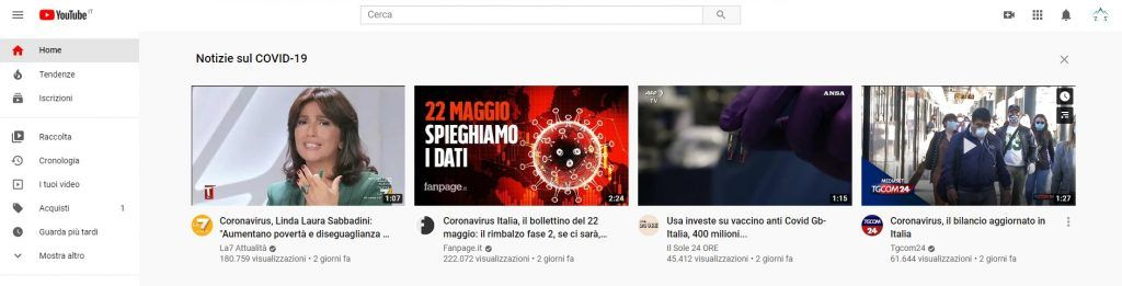 YouTube Web Tema Scuro -1