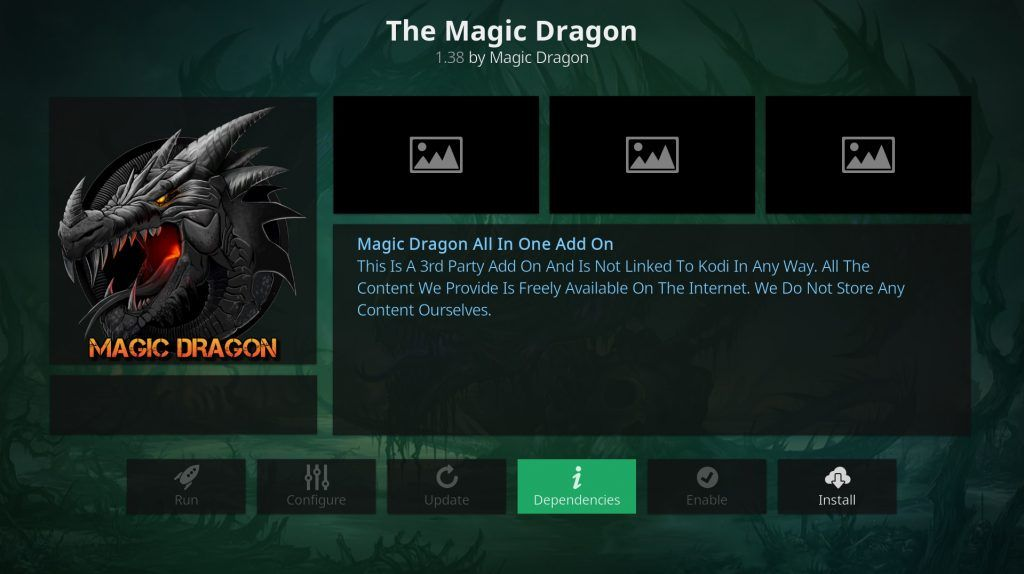 Addon Magic Dragon Kodi Installa