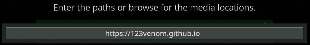 Venom repo indirizzo kodi