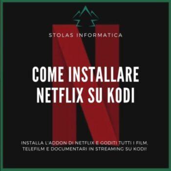 Installare addon Netflix Kodi - Cover