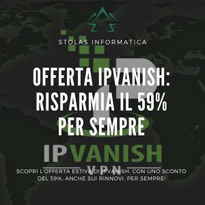 Offerta Estiva IPVanish
