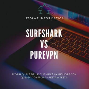 Surfshark PureVPN Confronto Cover