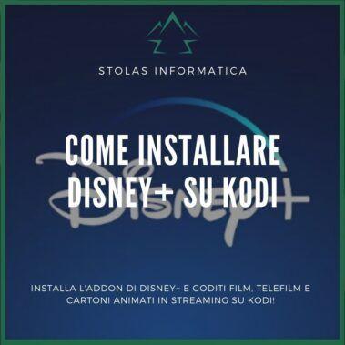 Come installare disney plus kodi addon - cover