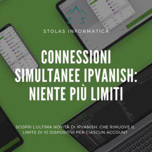 Connessioni simultanee IP Vanish Copertina