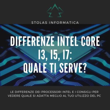 Differenze intel core cpu i3 i5 i7 guida - cover