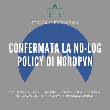 No-log policy NordVPN - cover
