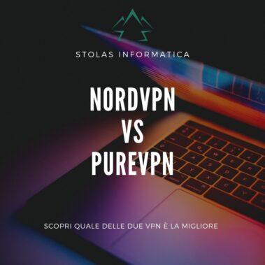 NordVPN PureVPN Confronto VPN Copertina