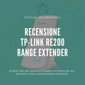 Recensione TP-Link RE200 Range Extender