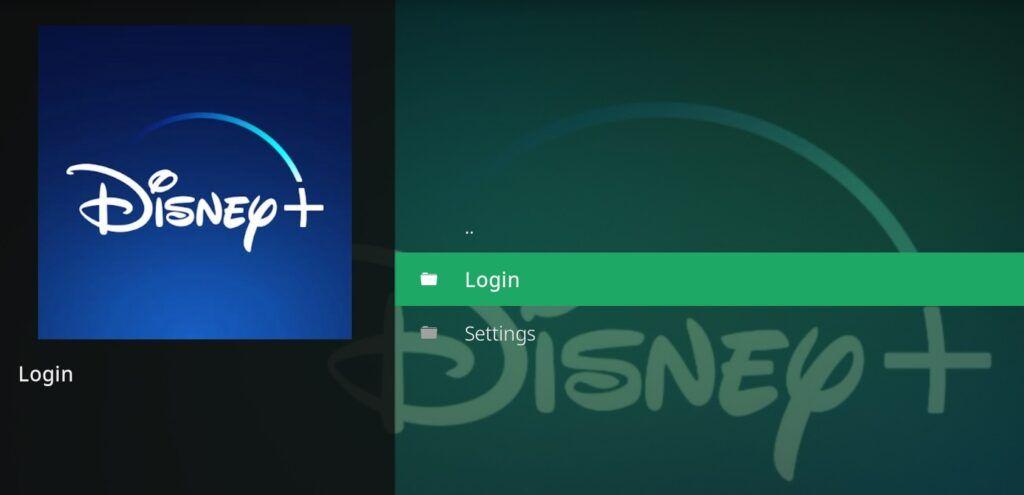 installare addon disney plus kodi - login