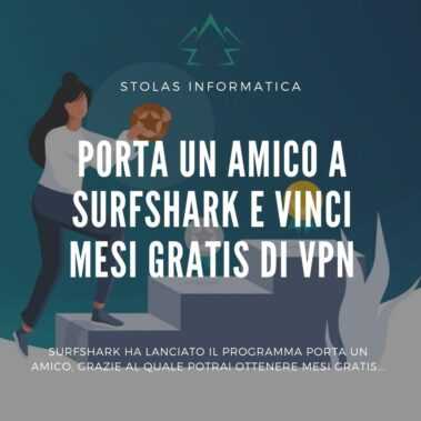 programma surfshark porta amico - copertina