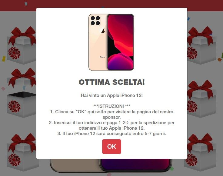 Phishing mediaworld - Sito unieuro apple iphone