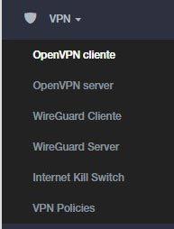 configurare-vpn-glinet-glmt300n-Menu sinistra VPN_tagliato