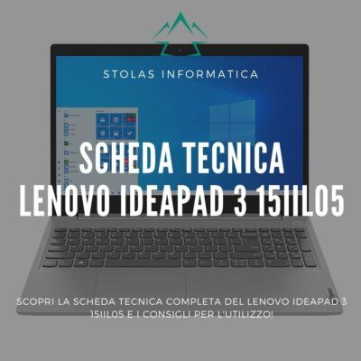 Lenovo IdeaPad 3 15IIL05 - Cover