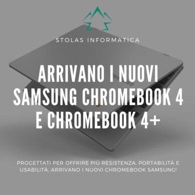 Samsung Chromebook 4 - cover
