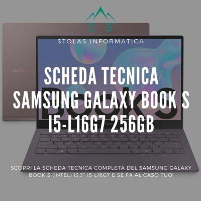 Samsung Galaxy Book S 256GB - Cover
