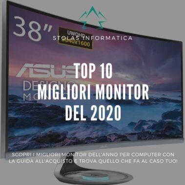 Top 10 migliori monitor per computer: guida all'acquisto [2021]