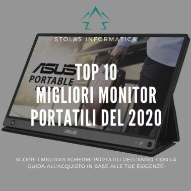 Top 10 migliori monitor portatili: guida all'acquisto [2021]
