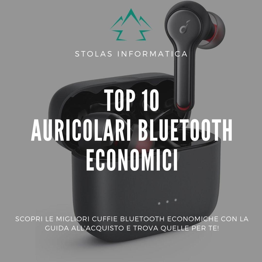 Top 10 migliori auricolari bluetooth economici: guida all'acquisto [2021]