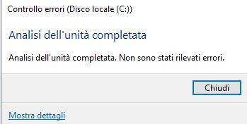 check-disk-controllo-errori-terminato