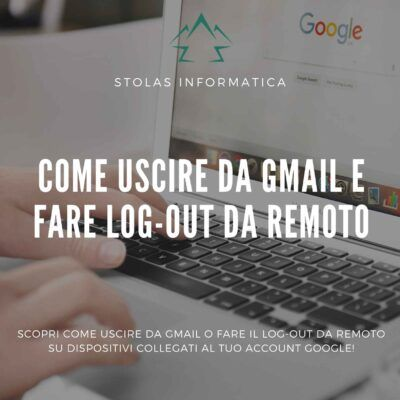 come-uscire-account-gmail-google-cover