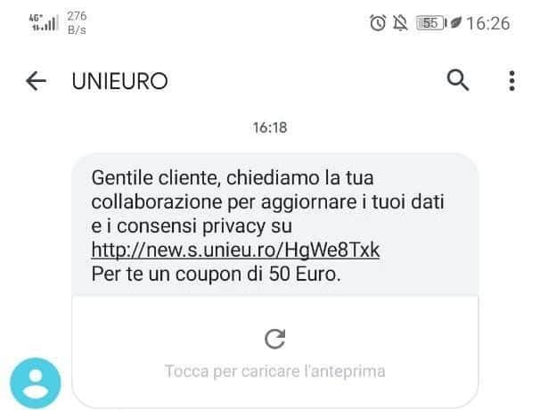 unieuro-chiediamo-collaborazione-aggiornare-dati-phishing-sms