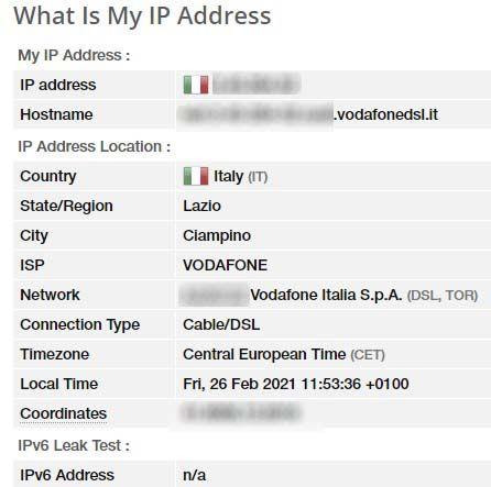 test-dati-indirizzo-ip