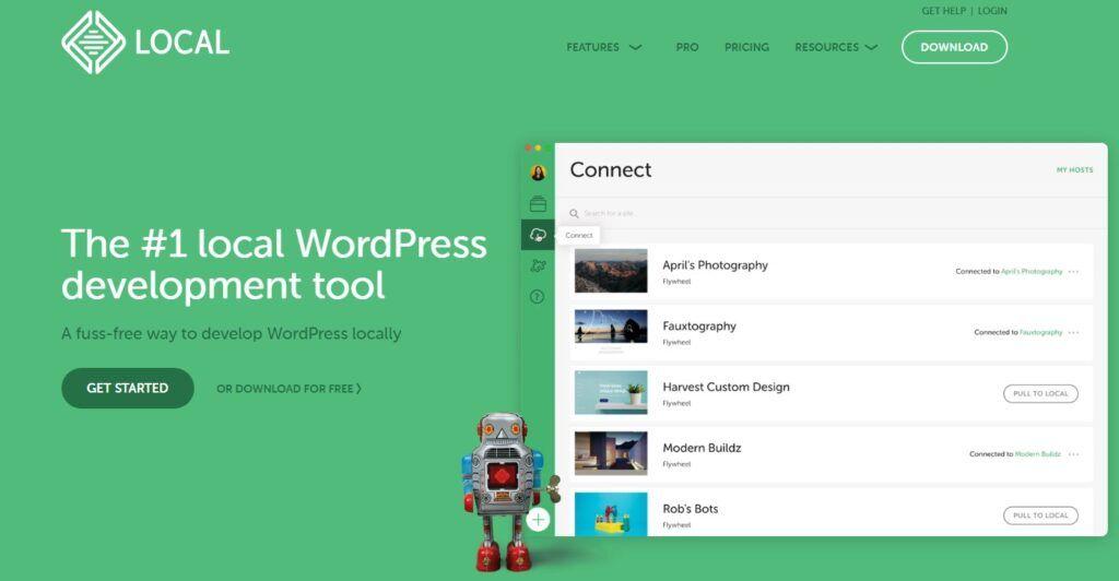 local-wordpress-home