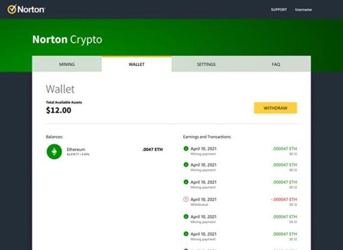 Norton Crypto Anteprima